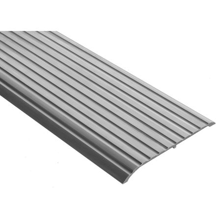 653-48 Threshold, Fluted Top, 4 ft., Aluminum Mill