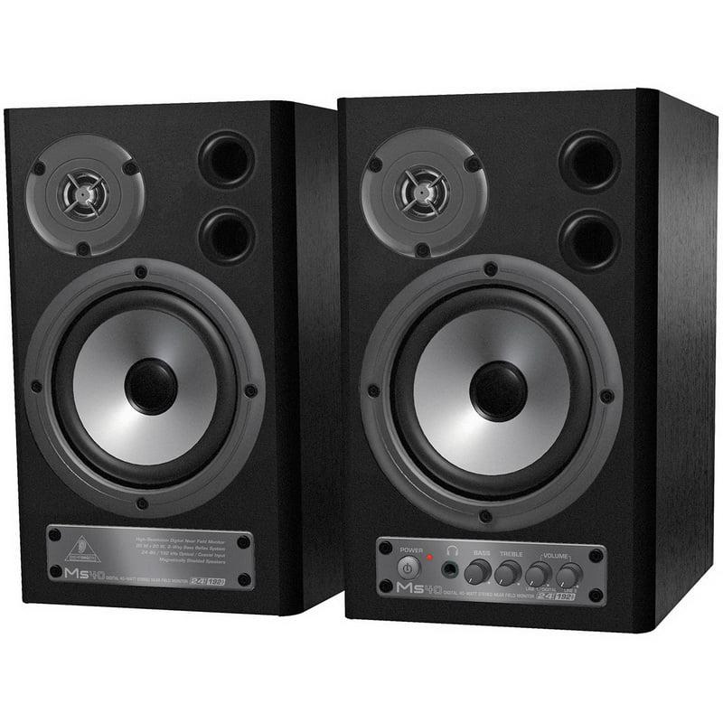 Behringer MS40 Digital Monitor Speakers 2 x 20W Pair