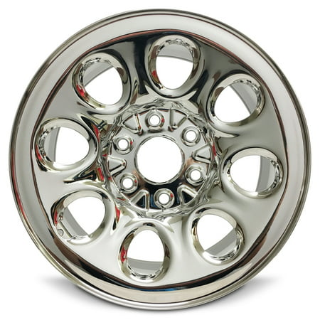 Road Ready 17 Chrome Wheel Rim For 07 14 Chevrolet Silverado 1500 2007 2014 Suburban Tahoe 2009 2014 Cadillac Escalade 2005 2013 Gmc Sierra