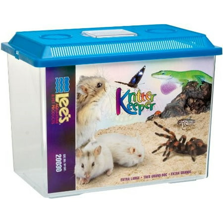 Lee's Aquarium & Pet Products Kritter Keeper Reptile House, X-Large, Assorted Colors