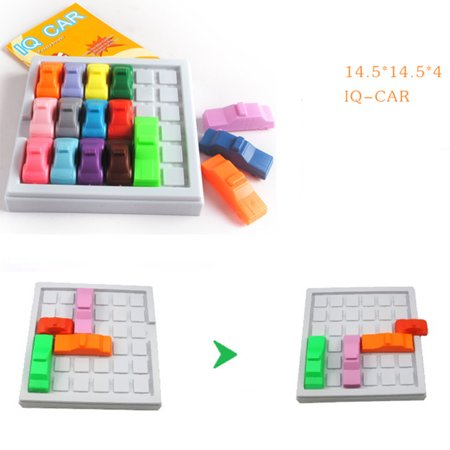 Busy Hour Puzzle Game Fun Rush Hour Traffic Jam Logic Game Toy For Boys Girls ()