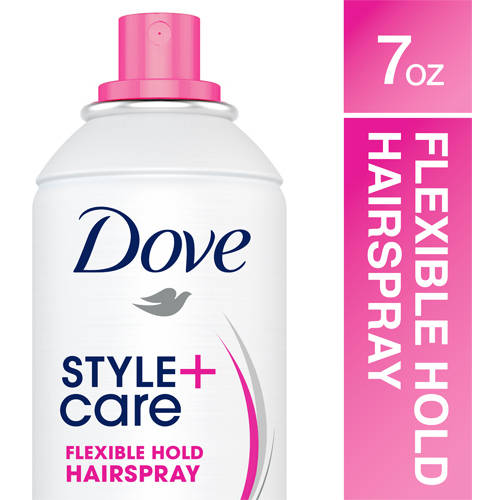 Dove Strength and Shine Flexible Hold Hairspray, 7 oz