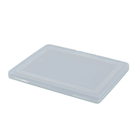 Office Home Accessory Plastic Document Holder Organizer File Storage Case Clear