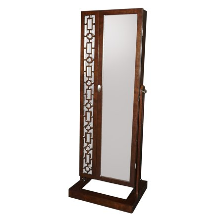 Powell  Amelia Cheval Cherry Wood Full Length Mirror