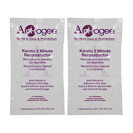 Keratin Reconstructor (ApHogee Keratin 2 Minute Reconstructor 0.35oz (2 Applications)