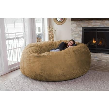 Marvelous Chill Sack Huge 8 Ft Bean Bag Multiple Colors Fabrics Machost Co Dining Chair Design Ideas Machostcouk