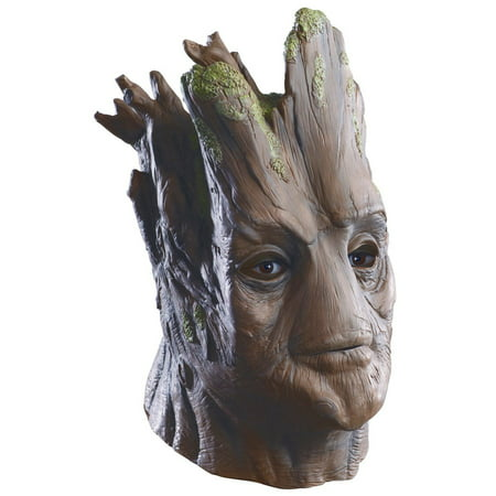 Adult Deluxe Groot Overhead Latex Mask Halloween Costume Accessory (Foam Latex Halloween Costumes)