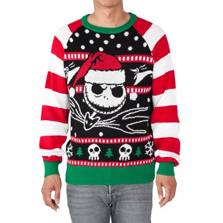 Nightmare Before Christmas Jack Skellington Sandy Claws Mens