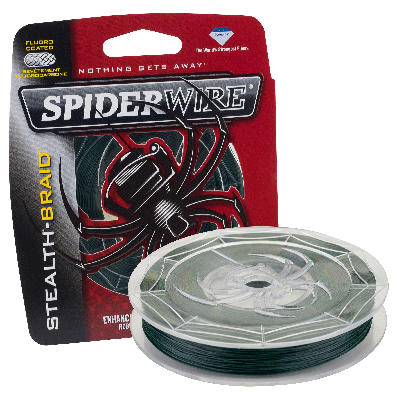 SpiderWire Stealth Braid Fishing Line by Spiderwire