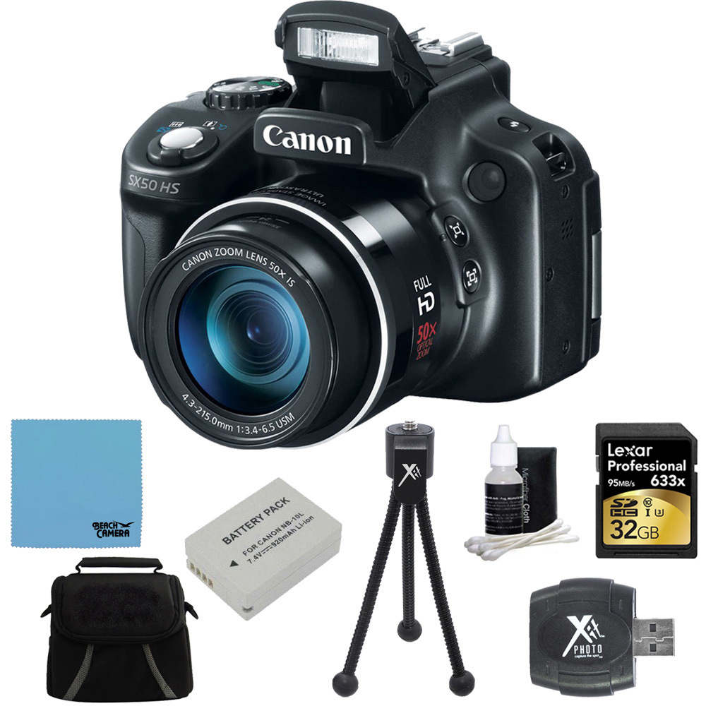 Canon PowerShot SX60 HS 16.1 MP Digital Camera with 65x W...