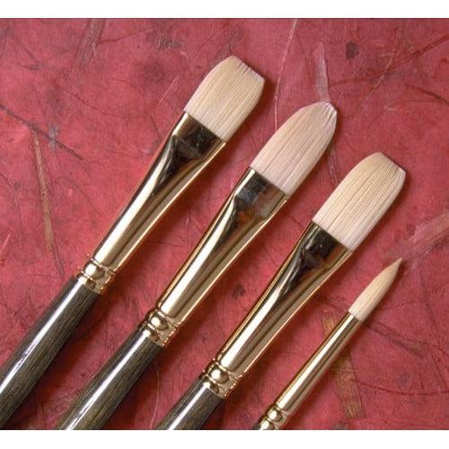 Princeton Artist Brush Synthetic Hair Flat Brush (Set of 2)