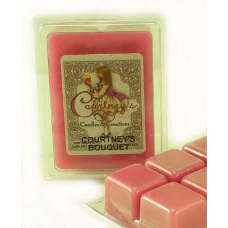 COURTNEYS BOUQUET Mixer Melt or Wax Tart by Courtneys Candles