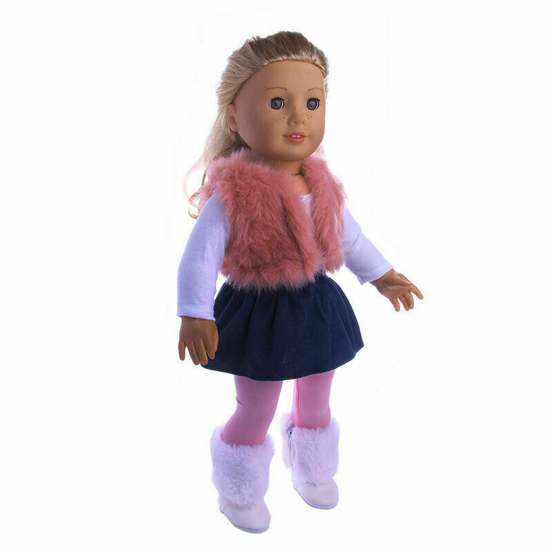 """NEW IN BOX 2 FREE OUTFITS MY LONDON GIRL 14/"""" BABY WHITE DOLL ADORABLE EMILY"""