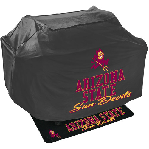 Mr. Bar-B-Q NCAA Grill Cover and Grill Mat Set, Arizona State Sun Devils