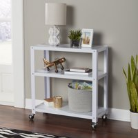 Mainstays 3-Tier Metal Bookcase, Multiple Colors