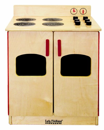 ECR4Kids Birch Kitchen Playsets, Natural by