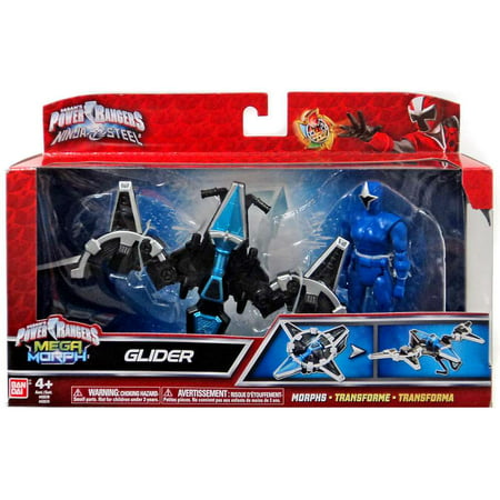 Power Rangers Mega Morph Glider with Blue Ranger Action Figure](Power Ranger Morphsuits)