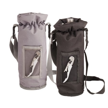 Champagne Bottle Carrier, Single Standard Bottle Insulated Wine Bottle Carrier (Sold by Case, Pack of 12)