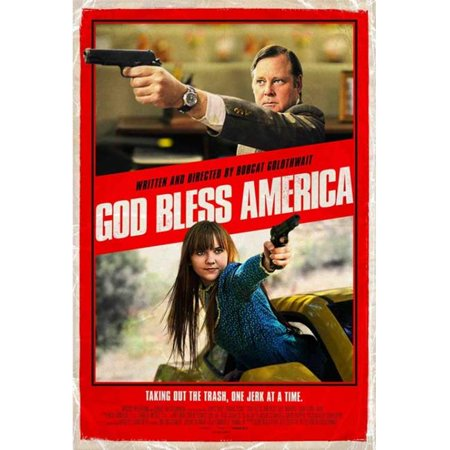 Pop Culture Graphics MOVCB96105 God Bless America Movie Poster, 11 x 17 (Obama God Bless America)