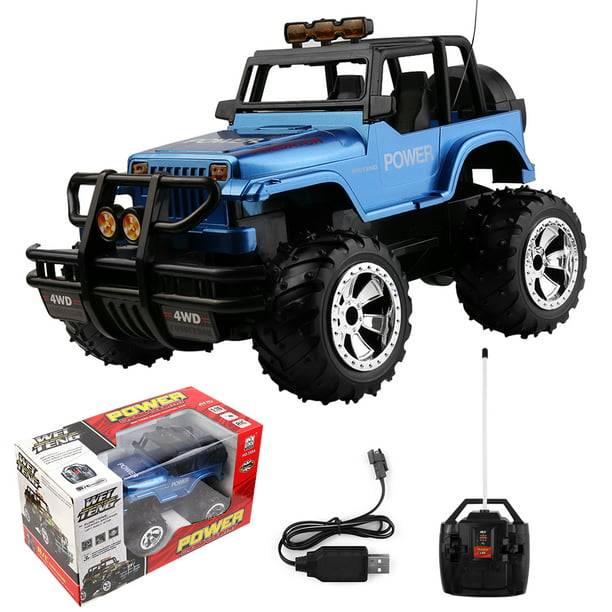 Remote Control Car For Boys And Girls Rechargeable Rc Jeep Off Road Vehicle Hobby Toy Race Car With Lights Racing Toy Car For Kids Walmart Com Walmart Com