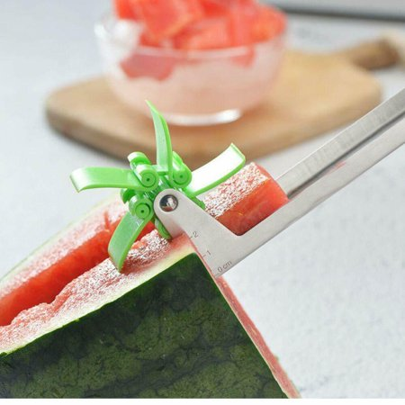WATERMELON SLICER WATER MELON SLICING TOOL - WINDMILL SHAPE CUTTER SLICER FOR CUTTING WATERMELONS HOME AND KITCHEN