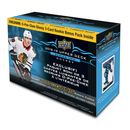 18-19 UPPER DECK SERIES 2 HOCKEY WM MEGA BOX ()