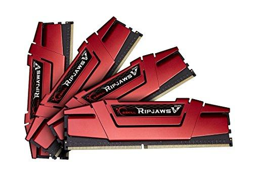 G.SKILL Ripjaws V Series 16GB (4 x 4GB) 288-Pin DDR4 SDRAM 3000 (PC4 24000) Intel X99 Platform Memory F4-3000C15Q-16GVR