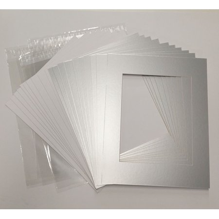 18x24 White Picture Mats with White Core for 12x18 Pictures - Fits ...