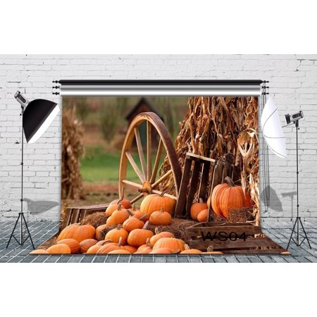 GreenDecor Polyster 7x5ft Halloween Theme Photography Backdrop Studio Background Photo Backdrops Studio Props](Studio Halloween Props)