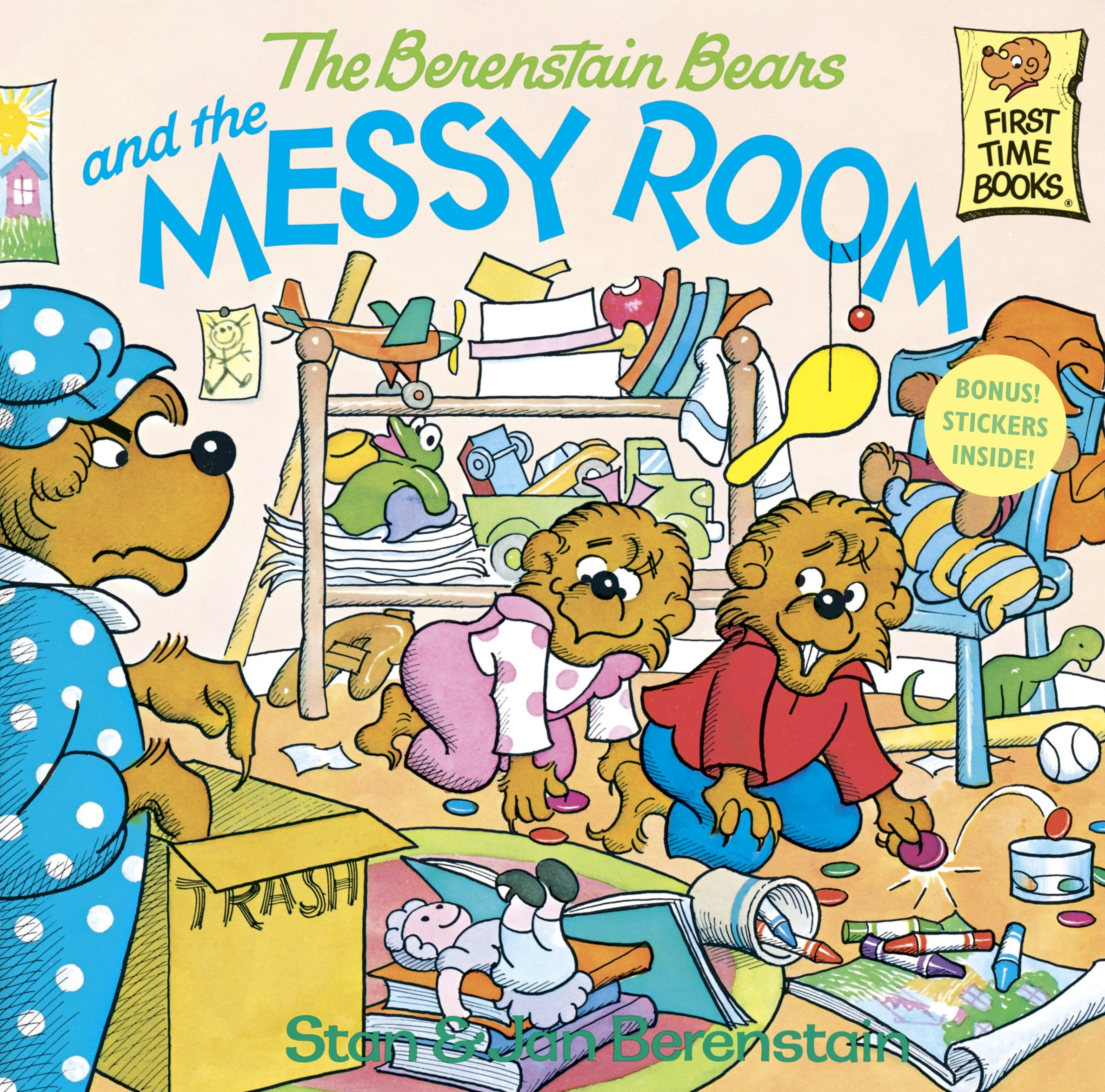The Berenstain Bears and the Messy Room (Paperback)