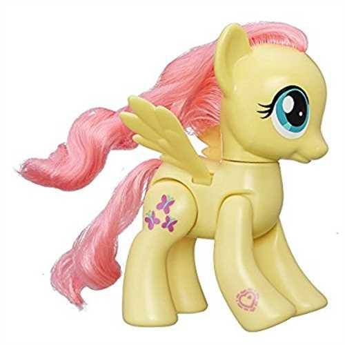 "My Little Pony Explore Equestria Action Friends 6"" Fluttershy by Hasbro"