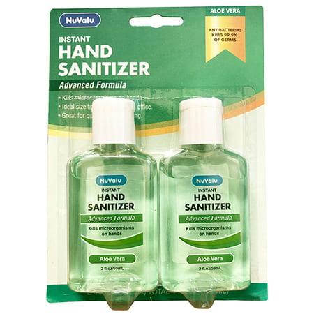 New 380245  Nuvalu Hand Sanitizer 2 Pack 4 Oz Aloe Vera (36-Pack) Cough Meds Cheap Wholesale Discount Bulk Pharmacy Cough Meds Acne Wash
