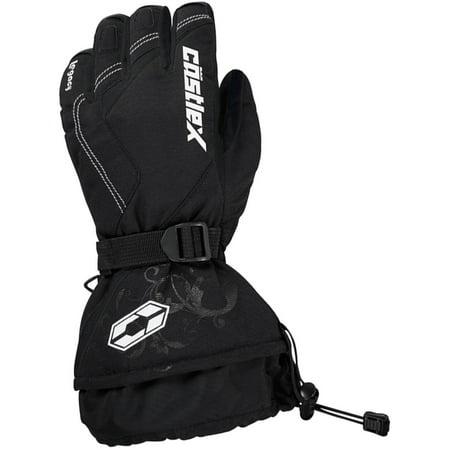 Castle X Racewear Legacy Womens Snowmobile Gloves Black