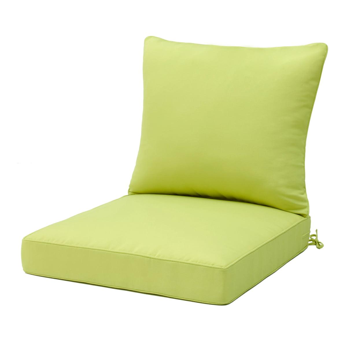 Outdoor Indoor High Rebound Foam High Back Dining Chair Cushion Seat Mat Cushion