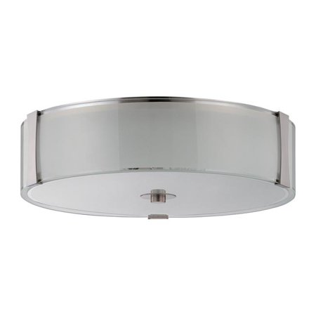 Luminance F9514-80 18 in. LED Rowley Flush Mount - image 1 of 1