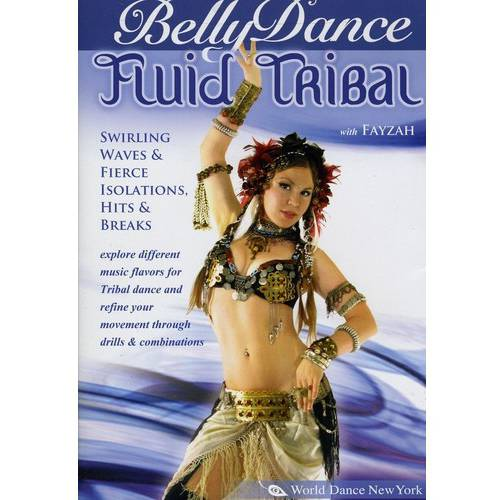 Belly Dance Fluid Tribal With Fayzah by Stratostream