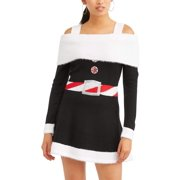 womens ugly christmas sweater dress