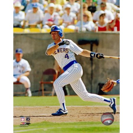 (Paul Molitor Action Photo Print)