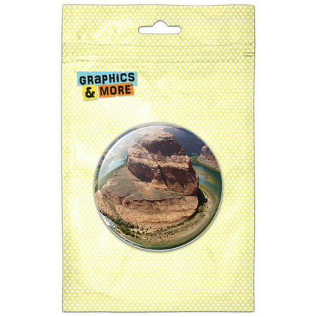 Horseshoe Pen - Horseshoe Bend Arizona Colorado River Pinback Button Pin Badge