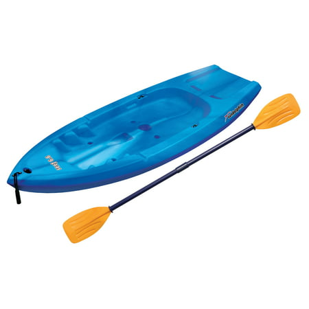 Sun Dolphin Reef 6.6 Sit-On Youth Kayak, Paddle (Dolphin Mall Shops)