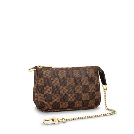 Louis Vuitton Damier Ebene Canvas Mini Pochette Accessoires N58009 (Vuitton Sonnenbrille)