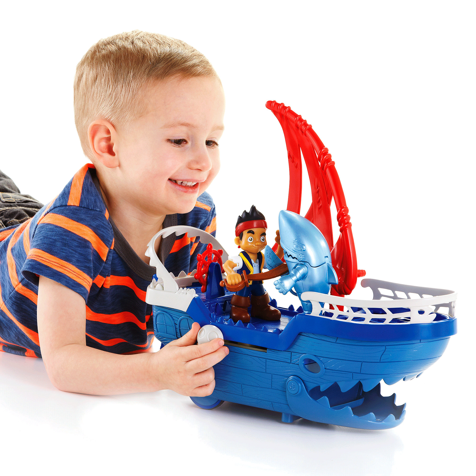 Jake and The Never Land Pirates Shark Ship by Mattel