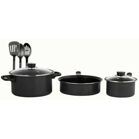 Imperial Home 8 Piece Non-Stick Cookware Set 8 Piece Package Set