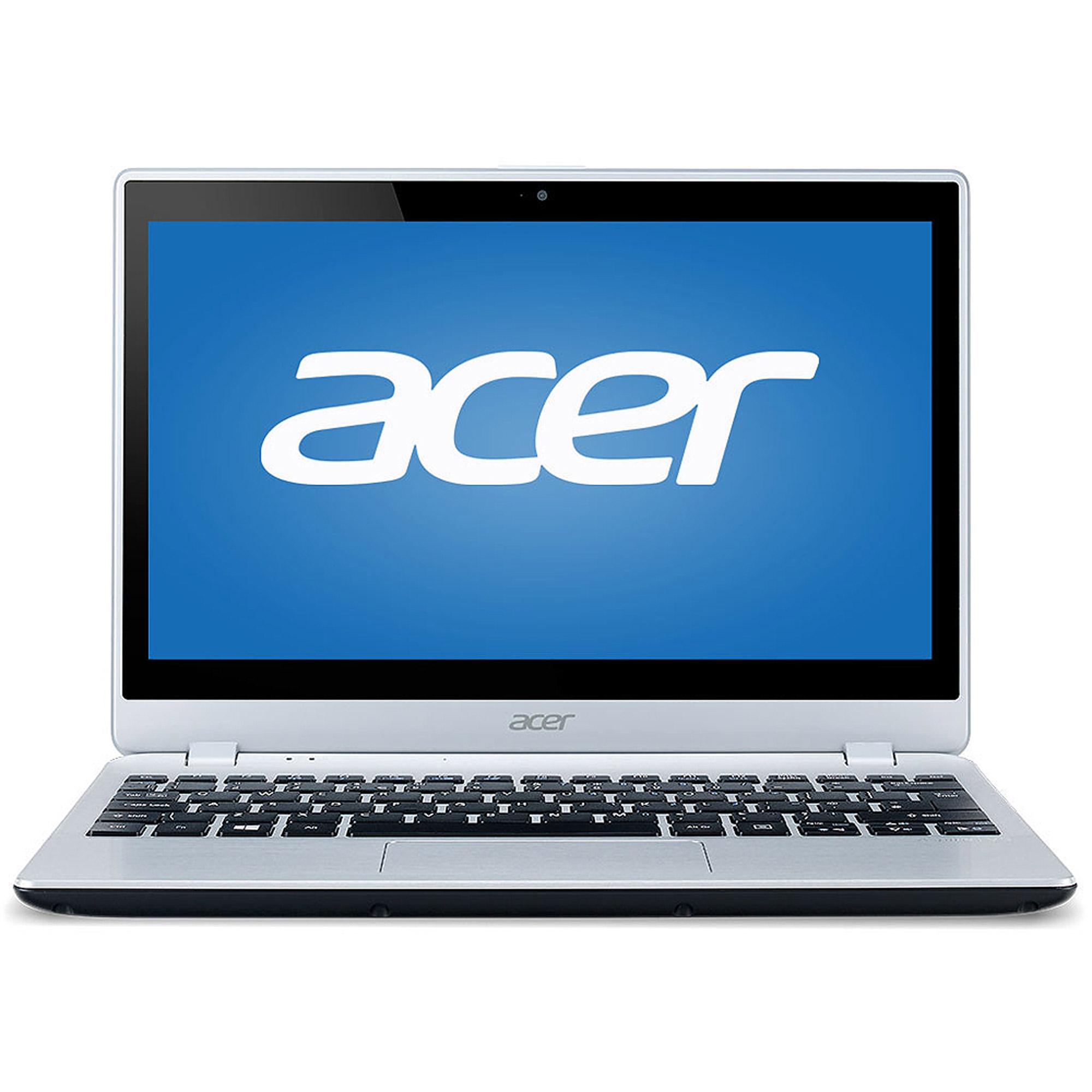 "Acer Aspire V5-122P-0408 X2 AMD A4-1250 1.0GHz 4GB 500GB 11.6"" Touch Win8 (Ch, Silver (Refurbished)"