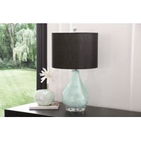 Devon & Claire Jules Glass Table Lamp, Aqua