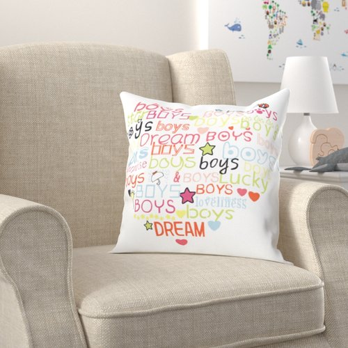 Zoomie Kids Lisdale Indoor Throw Pillow