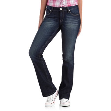 d9a686b9086 L.e.i. - Juniors' Ashley Slim Bootcut Jeans - Walmart.com