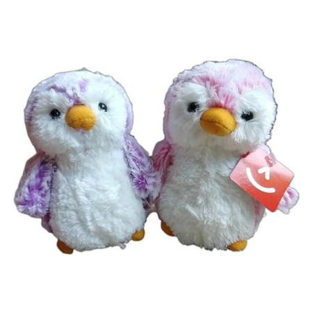 POM POM PENGUIN BRIGHTS, Violet & Pink 6