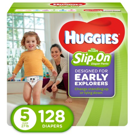 1e210b1826fc HUGGIES Little Movers Slip-On Diaper Pants