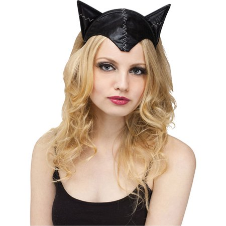 Cat Headband and Tail Adult Halloween Accessory